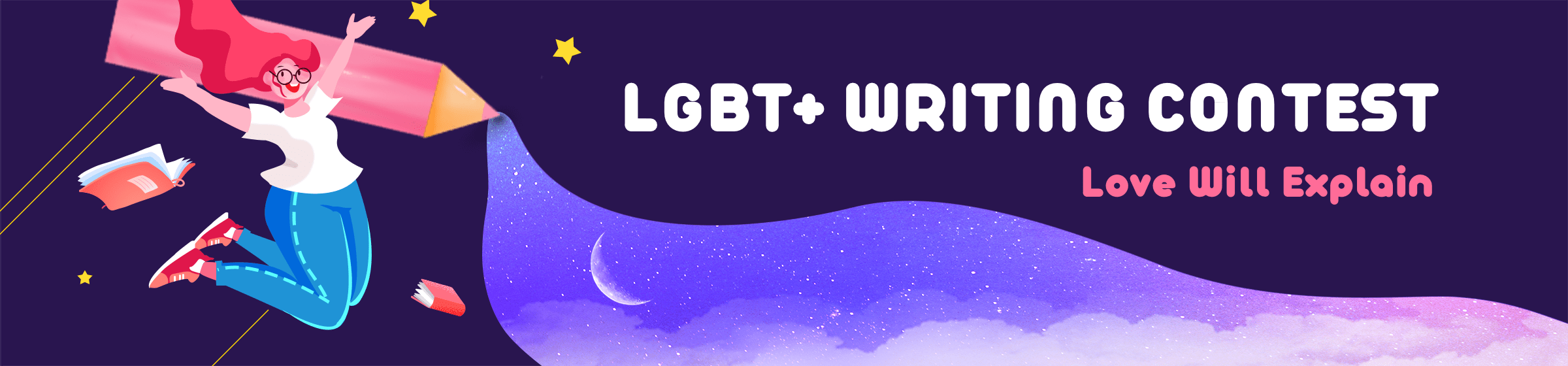 LGBT+ Writing contest@#29154f@#29154f