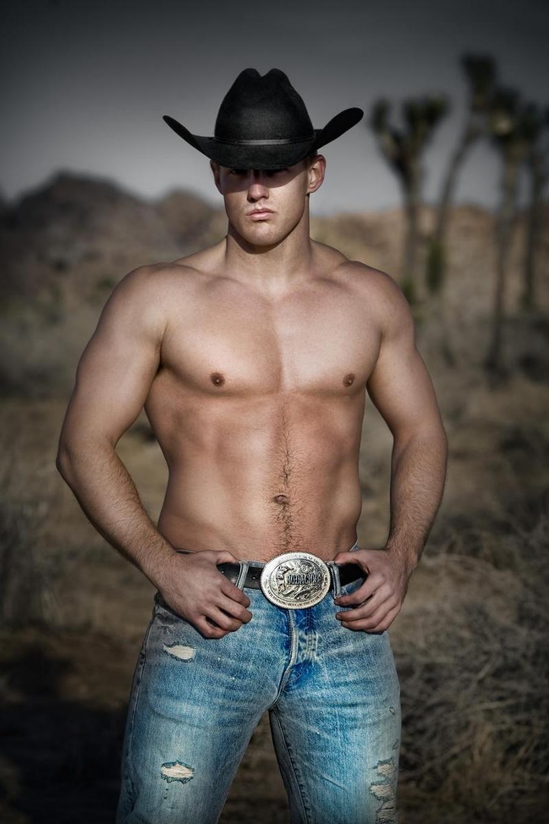 Sexy cowboy gay